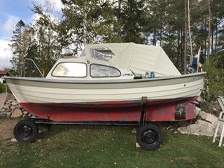 Säljes: båtvagn